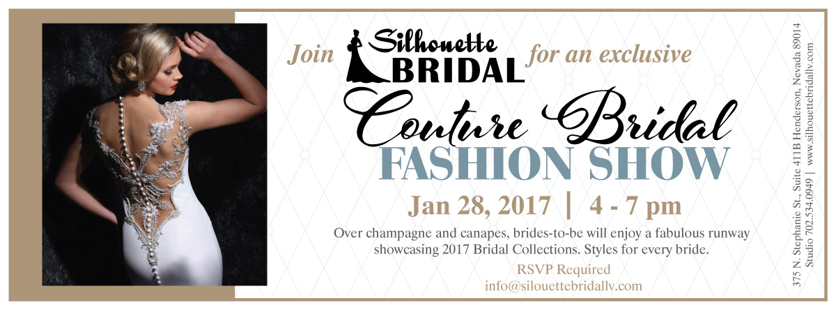 Silhouette Bridal Couture Bridal Fashion Show